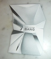 Carte Parfumée Bang De Marc Jacobs - Perfume Cards
