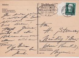 ALLEMAGNE 1928 CARTE DE FRANKFURT - Briefe U. Dokumente