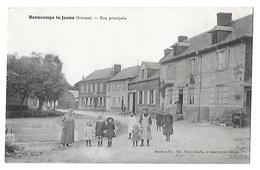 BEAUCAMPS LE JEUNE   Rue Principale  (recto Verso) - Other Municipalities
