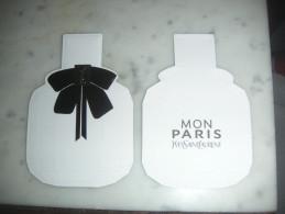 Carte Parfumée Mon Paris D'Yves Saint Laurent - Perfume Cards
