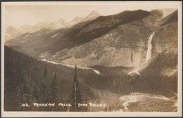 Takakaw Falls, Yoho Valley, British Columbia, C.1920s - Byron Harmon RPPC - Other