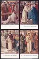 14 X CPA ** LA SOUFFRANCE DE JESUS ** SUPERBE COLLECTION ! HET LIJDEN VAN JEZUS - Jésus
