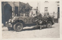 Romania - Old Time Car - Foto 60x45mm - Automobili