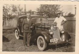 Roamnia - Old Time Car - Mercedes - Photo 85x55mm - Automobili
