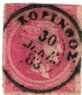 1A 978 Greece Large Hermes Head 1882 20 Lepta  Hellas 59IIb Dull-rosine - 1861-86 Grands Hermes