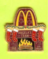 Pin's Mac Do McDonald's Las Vegas Foyer Bas De Noël 1998 - 7V29 - McDonald's