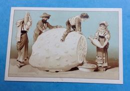 Jolie Chromo Italie Italiens Citron Géant Pressé Cruches Jus - Autres
