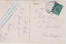 ALLEMAGNE  1928 CARTE POSTALE CACHET ÖSTERREISCHISCHE SCHIFFSPOST AM BODENSEE - Lettres & Documents