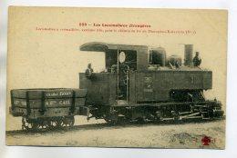 TRAINS 220 GRECE Les Locomotives 233  à Crémaillere Pour Chemins De Fer De Diacophso Kalavryta - Grecia