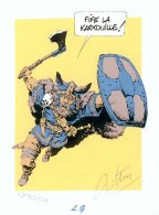 MITTON : Exlibris GARGOUILLE 1995     (ns) - Illustrateurs M - O