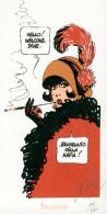 MITTON : Exlibris Librairie  DURANGO 1995  La Fumeuse      (ns) - Illustrateurs M - O