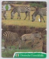 Deutsche Umwelthilfe -Das Zebra Puzzle Aus O 186 Und O 188 Aus 1997 -Auflagenhöhe Liegt Bei 1200 Ex- - Puzzles