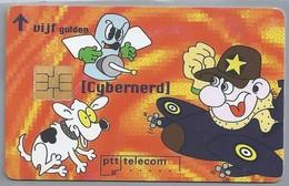 NL.- Telefoonkaart. PTT Telecom. 5 Gulden. Cybernerd. Mouse Potatoes Are Mudding Here In Cyberspace. A412 - Stripverhalen