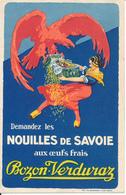 BOZON VERDURAZ - Nouilles De Savoie, Pâtes - Publicité