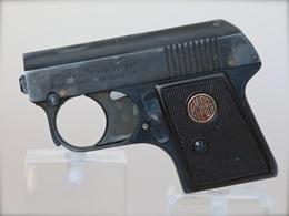 Pistolet D'alarme Moritz U. Gerstenberger Starter Pistol Waffenfabrik Zella-Mehlis - Armes Neutralisées