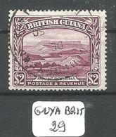 GUYA BRIT YT 172 Ob - Britisch-Guayana (...-1966)