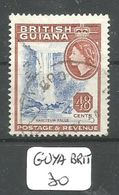 GUYA BRIT YT 210 Ob - British Guiana (...-1966)