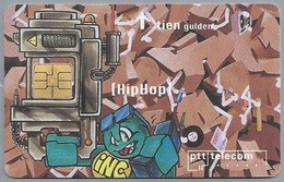 NL.- Telefoonkaart. PTT Telecom. Tien Gulden. Wich Bombaclad Busters Are Snoopin In My Hood. HipHop. Hip Hop. A415 - Stripverhalen