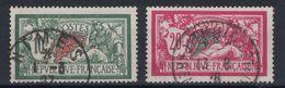 France - MERSON N° 207 + 208 OBLITÉRÉ TB Avec BELLE OBLITÉRATION D'ÉPOQUE 1927 & 1928 - 1900-27 Merson