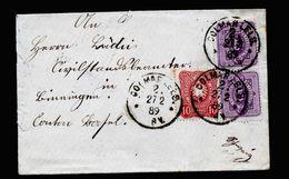 A5182) DR Kleiner Brief Colmar 27.2.89 Nach Binningen / Schweiz - Deutschland