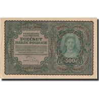 Pologne, 500 Marek, 1919, 1919-08-23, KM:28, SUP - Pologne