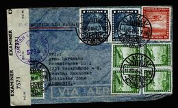 A5183) Chile Luftpostbrief Llay-Llay 14.3.47 Nach Germany Zensur - Chile