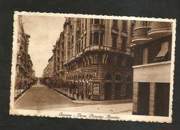 SAVONA - CORSO Principe AMEDEO ( Spedita 1936 ? ) Affrancatatura Asportata - Savona