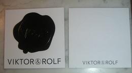 Lot 2 Cartes Parfumées  De Viktor & Rolf - Perfume Cards