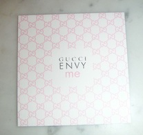 Carte Parfumée Envy Me De Gucci - Perfume Cards