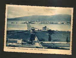 ORBETELLO (GS) - Panorama Visto Da Terrarossa ( Spedita 1938 ) - Grosseto