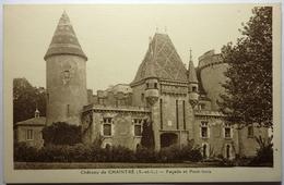 FAÇADE ET PONT LEVIS - CHATEAU DE CHAINTRÉ - Frankreich