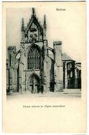 CPA 51 Marne Reims Façade Latérale De L'Eglise Saint-Remi - Reims