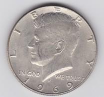 Rox 1969 Stati Uniti 1/2 Dollaro Kennedy - Federal Issues