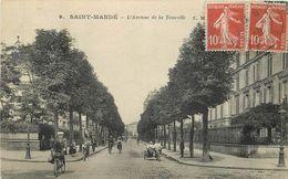 SAINT MANDE - Avenue De La Tourelle. (moto Side Car) - Saint Mande