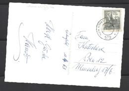 Austria - 1963 - Bahnpost 572 - Turkenbrunnen In Weltensfeld Im Gurktal Karnten - 1961-70 Lettres