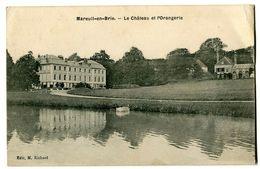 CPA 51 Marne Mareuil-en-Brie Le Château Et L'Orangerie - France