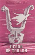 PROGRAMME DE L'OPERA DE TOULON SAISON 1980-1981 - Programmes