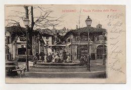 Bergamo - Piazza Fontana Della Fiera - Animata - Viaggiata Nel 1905 - (FDC8459) - Bergamo