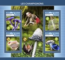 Chad 2017 Mushrooms - Tchad (1960-...)
