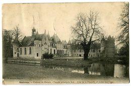 CPA 41 Loir Et Cher Suèvres Château De Diziers Façade Principale Sud Côté De La Chapelle Et Partie Ancienne - France