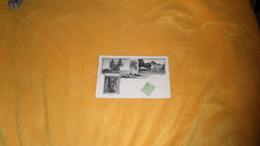 CARTE POSTALE ANCIENNE CIRCULEE DE 1907. / GABON. LIBREVILLE MULTI VUE. ROUTE A PLATEAU, TRIBUNAL, SHEKIANIS. / CACHETS - Gabon