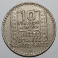 GADOURY 811 - 10 FRANCS 1948 B TYPE TURIN PETITE TETE - TTB - KM 909.2 - France
