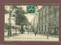 PARIS 16ème - AUTEUIL - AVENUE DE VERSAILLES - ECOLE DES FILLES ET LA POSTE - Arrondissement: 16