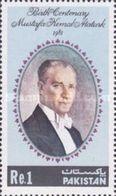 PAKISTAN MNH (**) STAMPS ( The 100th Anniversary Of The Birth Of Kamal Ataturk -1981) - Pakistan