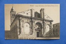 Cartolina Rimini - Tempio Malatestiano - 1920 Ca. - Rimini