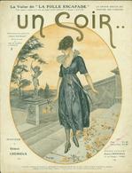 """PARTITION MUSICALE DE 1919 """"UN SOIR"""" - Partitions Musicales Anciennes"""