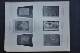 LA DECORATION ANCIENNE ET MODERNE DE RELIURES EN CUIR, VEAU REPOUSSE / SALONS DE 1901 - Vieux Papiers