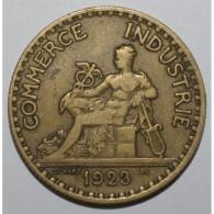 GADOURY 533 - 2 FRANCS 1923 TYPE CHAMBRE DE COMMERCE - TB A TTB - KM 877 - France