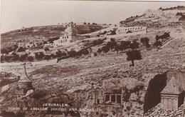 JERUSALEM -TOMBS OF ABSALON, JERICHO @ ZACHARIAH - Palestine