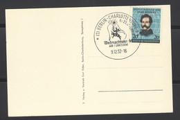 Germania - 1952 - Postkarte - Weihnachtsmarkt Am Funkturm - Mi N. 155 - Brieven En Documenten